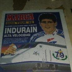 Coleccionismo deportivo: GUIA MARCA TOUR DE FRANCIA 1992. 24 PAGINAS. PERFECTO ESTADO. Lote 133662610