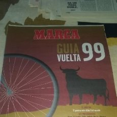 Coleccionismo deportivo: GUIA MARCA VUELTA CICLISTA A ESPAÑA 1999. 24 PAGINAS. PERFECTO ESTADO. Lote 133663030