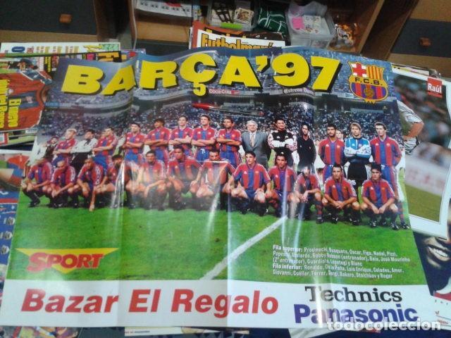 Mega Poster Sport Liga 96 97 Barça 97 F Buy Old Newspaper Sport At Todocoleccion 133668586