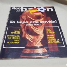 Coleccionismo deportivo: REVISTA DON BALON, LA COPA ESTA SERVIDA, N°328, ENERO 1982. Lote 133705826