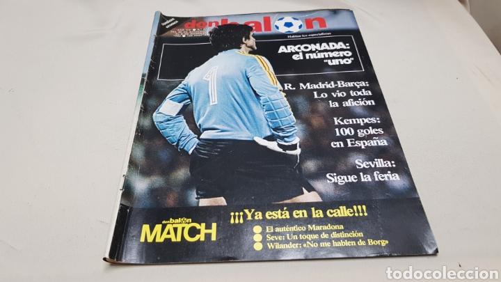 REVISTA DON BALON, ARCONADA NUMERO UNO, N°373, DICIEMBRE 1982 (Coleccionismo Deportivo - Revistas y Periódicos - Don Balón)