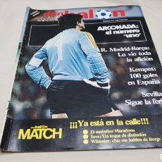 Coleccionismo deportivo: REVISTA DON BALON, ARCONADA NUMERO UNO, N°373, DICIEMBRE 1982. Lote 133710381