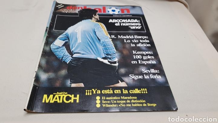 Coleccionismo deportivo: Revista don balon, arconada numero uno, n°373, diciembre 1982 - Foto 2 - 133710381