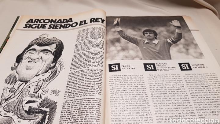 Coleccionismo deportivo: Revista don balon, arconada numero uno, n°373, diciembre 1982 - Foto 4 - 133710381