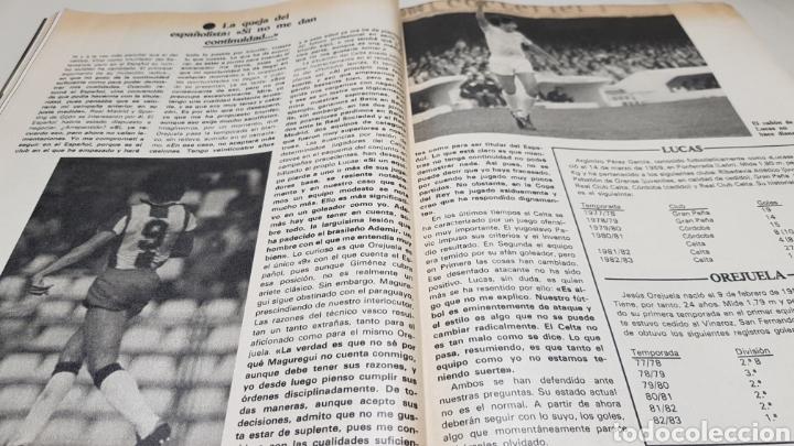 Coleccionismo deportivo: Revista don balon, arconada numero uno, n°373, diciembre 1982 - Foto 6 - 133710381