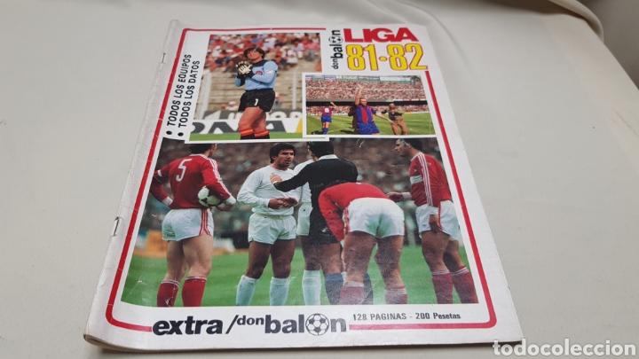 REVISTA DON BALON, EXTRA LIGA 81-82, TODOS LOS EQUIPOS, TODOS LOS DATOS (Coleccionismo Deportivo - Revistas y Periódicos - Don Balón)
