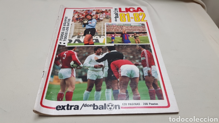 Coleccionismo deportivo: Revista don balon, extra liga 81-82, todos los equipos, todos los datos - Foto 2 - 133710999