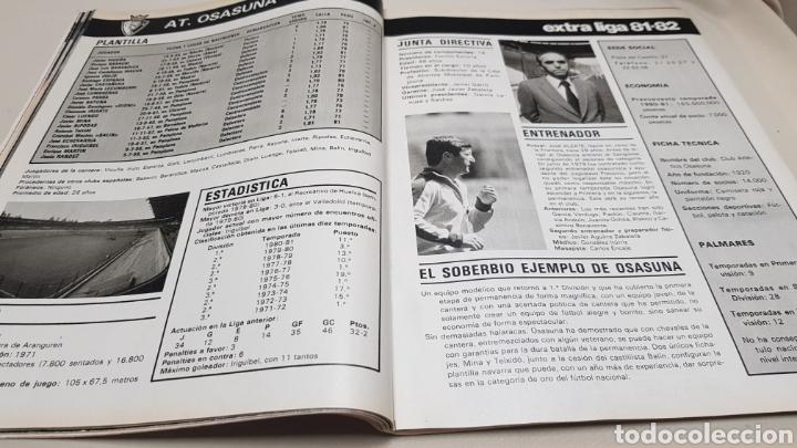 Coleccionismo deportivo: Revista don balon, extra liga 81-82, todos los equipos, todos los datos - Foto 5 - 133710999