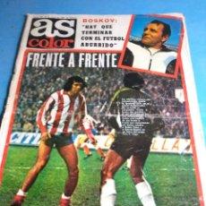 Coleccionismo deportivo: PERIÓDICO AS COLOR N'451, 12 ENERO DE 1980. Lote 133743839
