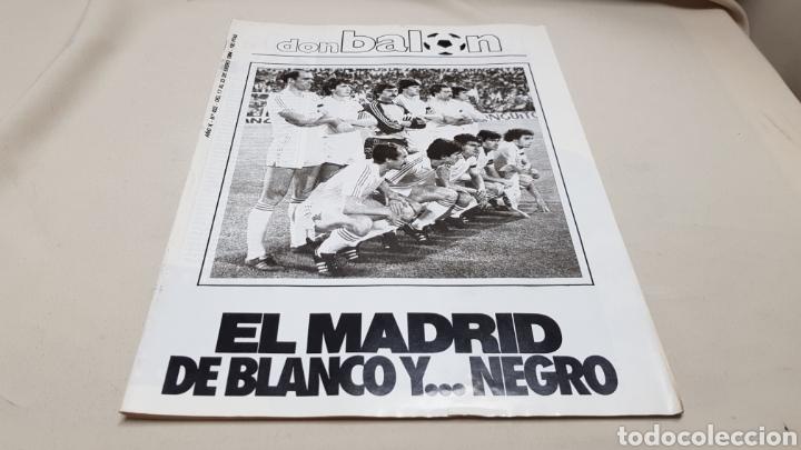 REVISTA DON BALON, EL MADRID DE BLANCO Y NEGRO, N° 432 , ENERO 1984 (Coleccionismo Deportivo - Revistas y Periódicos - Don Balón)