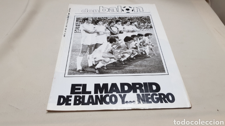 Coleccionismo deportivo: Revista don balon, el madrid de blanco y negro, n° 432 , enero 1984 - Foto 2 - 133755567