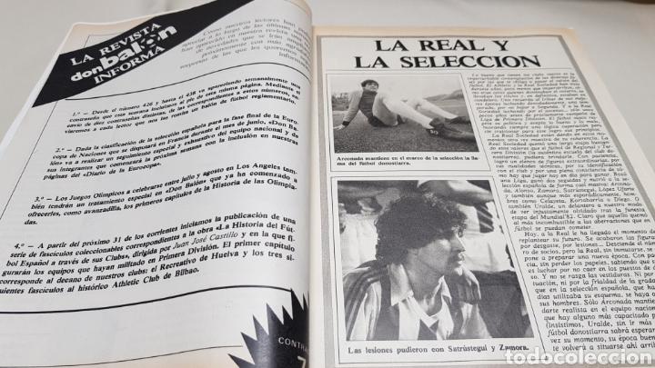 Coleccionismo deportivo: Revista don balon, el madrid de blanco y negro, n° 432 , enero 1984 - Foto 3 - 133755567