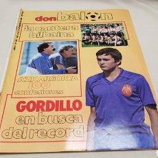 Coleccionismo deportivo: REVISTA DON BALON, GORDILLO EN BUSCA DEL RECORD, N° 431, ENERO 1984. Lote 133756217