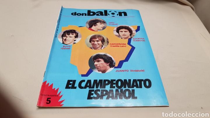 REVISTA DON BALON, EL CAMPEONATO ESPAÑOL, N°430, ENERO 1984 (Coleccionismo Deportivo - Revistas y Periódicos - Don Balón)