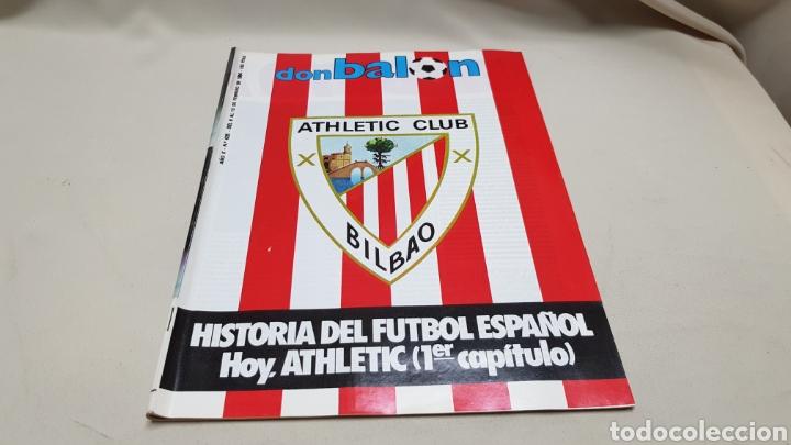 REVISTA DON BALON, HISTORIA ATHLETIC CLUB BILBAO, N ° 435, FEBRERO 1984 (Coleccionismo Deportivo - Revistas y Periódicos - Don Balón)