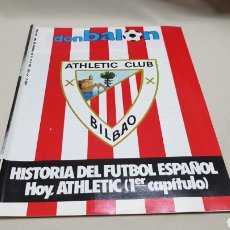 Coleccionismo deportivo: REVISTA DON BALON, HISTORIA ATHLETIC CLUB BILBAO, N ° 435, FEBRERO 1984. Lote 144665458