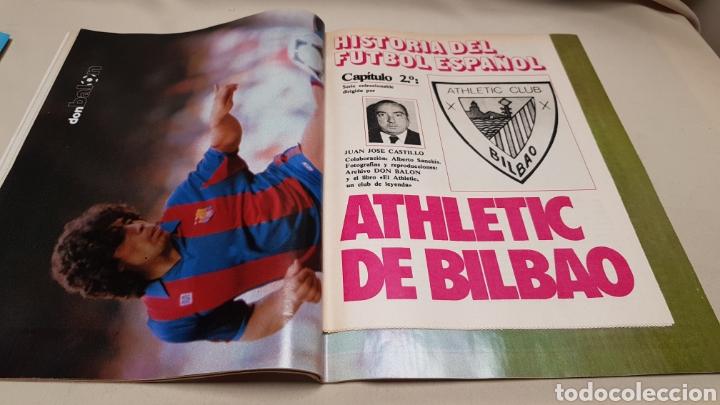 Coleccionismo deportivo: Revista don balon, historia athletic club bilbao, n ° 435, febrero 1984 - Foto 3 - 144665458