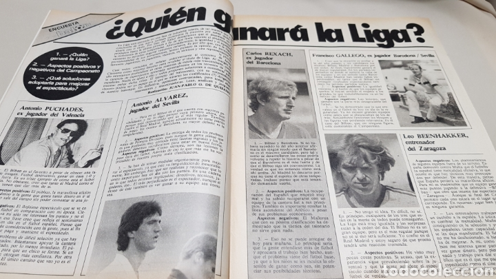 Coleccionismo deportivo: Revista don balon, tenemos el contrato clubs-tve, n°433, enero 1984 - Foto 3 - 133758298