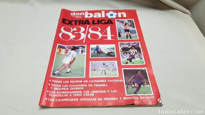 REVISTA DON BALON, EXTRA LIGA 83-84, TODOS LOS EQUIPOS DE CATEGORIA NACIONAL. (Coleccionismo Deportivo - Revistas y Periódicos - Don Balón)