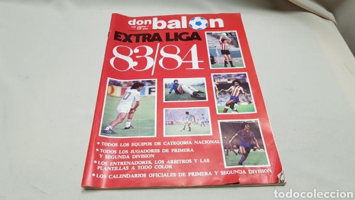 Coleccionismo deportivo: Revista don balon, extra liga 83-84, todos los equipos de categoria nacional. - Foto 2 - 133759049
