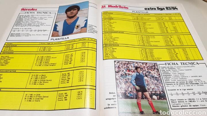 Coleccionismo deportivo: Revista don balon, extra liga 83-84, todos los equipos de categoria nacional. - Foto 7 - 133759049