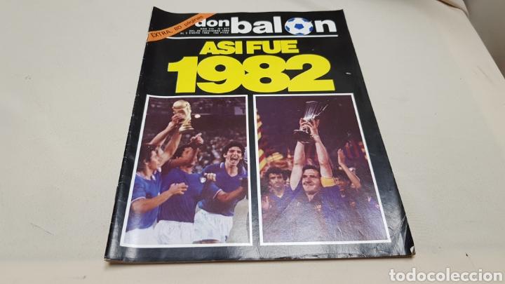 REVISTA DON BALON, ASI FUE 1982, N° 377, DICIEMBRE 1982 (Coleccionismo Deportivo - Revistas y Periódicos - Don Balón)