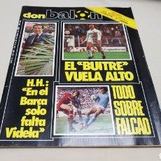 Coleccionismo deportivo: REVISTA DON BALON, EL BUITRE VUELA ALTO, N°436, FEBRERO 1984. Lote 133759746