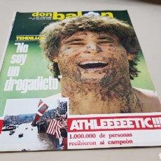 Coleccionismo deportivo: REVISTA DON BALON, ATHLEEEEETIC!!!, N°396 , MAYO 1983. Lote 133762922