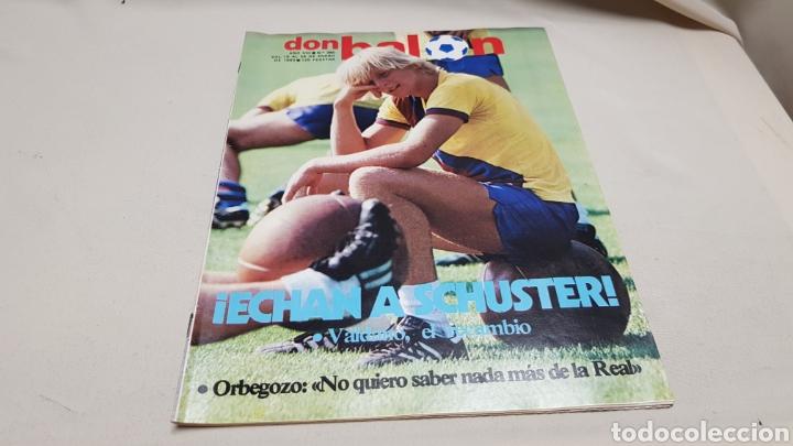 REVISTA DON BALON, ECHAN A SCHUSTER, N°380, ENERO 1983 (Coleccionismo Deportivo - Revistas y Periódicos - Don Balón)