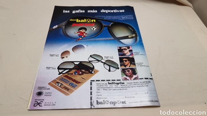 Coleccionismo deportivo: Revista don balon, echan a schuster, n°380, enero 1983 - Foto 5 - 133763158