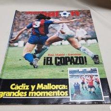 Coleccionismo deportivo: REVISTA DON BALON, CADIZ Y MALLORCA GRANDES MOMENTOS, N° 399, JUNIO 1983. Lote 133764802