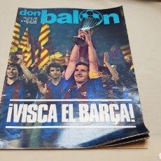 Coleccionismo deportivo: REVISTA DON BALON, VISCA EL BARCA!!!, N° 345, 1982. Lote 133766017