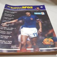 Coleccionismo deportivo: 6 REVISTAS DON BALON MUNDIAL 82, N°2,3,5,6,7 Y 8.. Lote 133797291