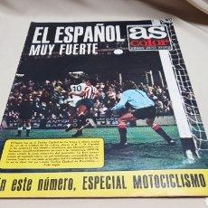 Coleccionismo deportivo: REVISTA AS COLOR, EL ESPAÑOL MUY FUERTE, N°222 AGOSTO 1975. Lote 133852091