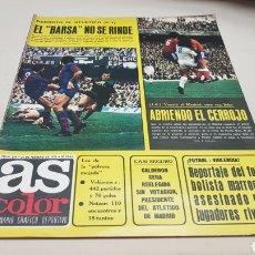 Coleccionismo deportivo: REVISTA AS COLOR, EL BARSA NO SE RINDE, N°249 FEBRERO 1976, POSTER DEL R.C.DEPORTIVO DE LA CORUÑA. Lote 133898545