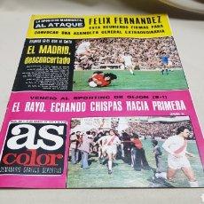 Coleccionismo deportivo: REVISTA AS COLOR, EL MADRID DESCONCERTADO, N°304, MARZO 1977, POSTER DE LUIZ PEREIRA,. Lote 133972343