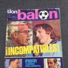 Coleccionismo deportivo: DON BALON 19 - BARCELONA - PÓSTER REZZA - SALAMANCA - ROJO - CRUYFF. Lote 143024541