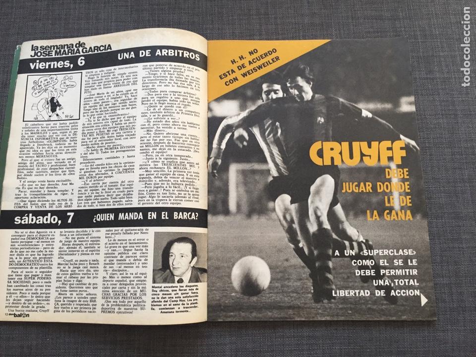Coleccionismo deportivo: Don balon 19 - Barcelona - Póster Rezza - Salamanca - Rojo - Cruyff - Foto 2 - 143024541