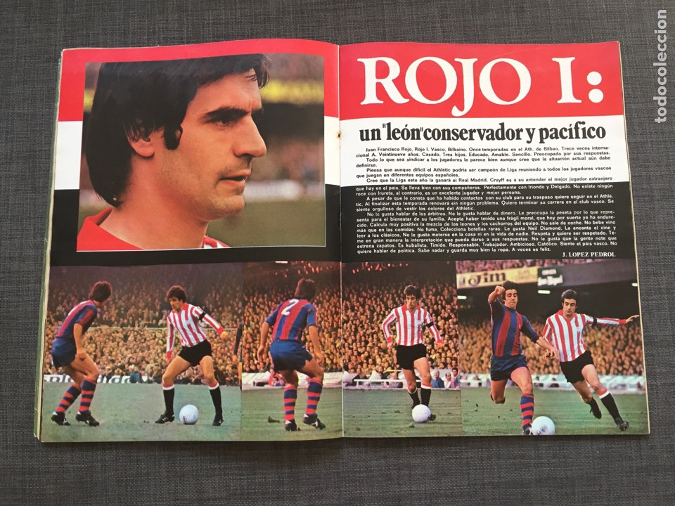 Coleccionismo deportivo: Don balon 19 - Barcelona - Póster Rezza - Salamanca - Rojo - Cruyff - Foto 4 - 143024541