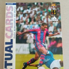Coleccionismo deportivo: VIRTUAL CARDS-GOLES MEMORABLES DEL BARÇA. Lote 134272159