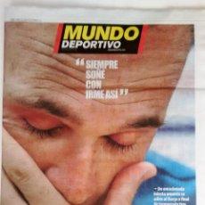 Coleccionismo deportivo: MUNDO DEPORTIVO: RETIRADA DE ANDRES INIESTA. Lote 134730310