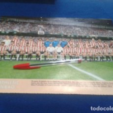 Coleccionismo deportivo: MINI POSTER DON BALON LIGA 98/99 ( ATHLETIC BILBAO ) . Lote 135064402