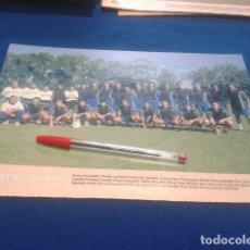 Coleccionismo deportivo: MINI POSTER DON BALON LIGA 98/99 ( REAL OVIEDO ) . Lote 135065066