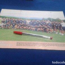 Coleccionismo deportivo: MINI POSTER DON BALON LIGA 98/99 ( REAL MADRID ) . Lote 135065222