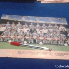Coleccionismo deportivo: MINI POSTER DON BALON LIGA 98/99 ( REAL SOCIEDAD ). Lote 135065294