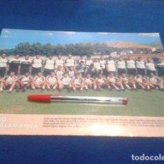 Coleccionismo deportivo: MINI POSTER DON BALON LIGA 98/99 ( U.D. SALAMANCA ) . Lote 135065494