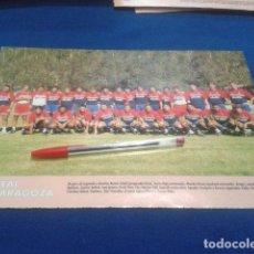 Coleccionismo deportivo: MINI POSTER DON BALON LIGA 98/99 ( REAL ZARAGOZA ) . Lote 135066006