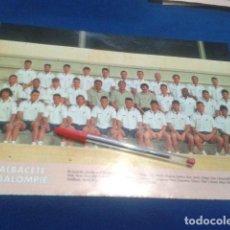 Coleccionismo deportivo: MINI POSTER DON BALON LIGA 98/99 ( ALBACETE BALOMPIE ) . Lote 135066110