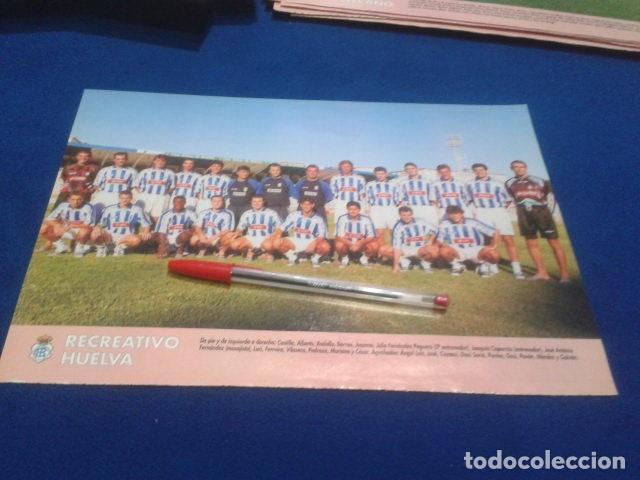 MINI POSTER DON BALON LIGA 98/99 ( RECREATIVO HUELVA ) (Coleccionismo Deportivo - Revistas y Periódicos - Don Balón)