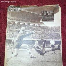 Coleccionismo deportivo: VIDA DEPORTIVA-(2-4-1962)Nº:864-LIGA 61/62-BARÇA 8- SANTANDER 0 Y BARCELONA 2-SHEFFIELD 0-FOTOS. Lote 135262926